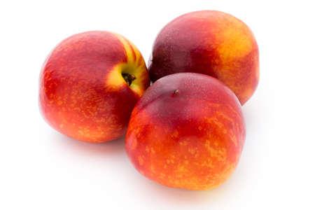 Fruit with isolated on white background.