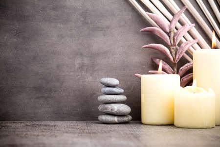 Stones spa treatment scene, zen like concepts. Reklamní fotografie