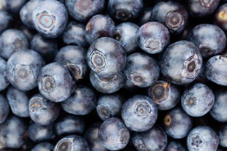 Fresh blueberries background Reklamní fotografie - 128802295
