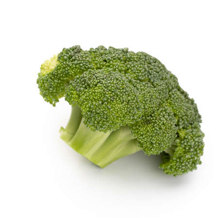 Broccoli isolated on a white background.  Stockfoto