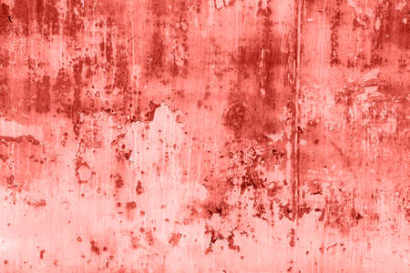 Living coral wooden background. Abstract wallpapper.