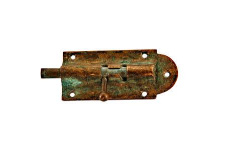 door bolt: Perno de cosecha puerta antigua