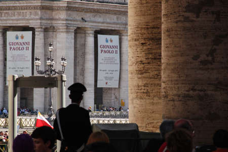 beatification: Rome, Italy - May 1, 2011 - during the celebration for the beatification of John Paul II