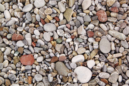 small group of objects: Beach pebbles background Stock Photo