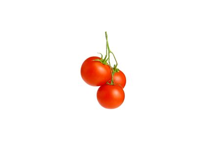branch of tomatoes. Top view Archivio Fotografico - 144661890