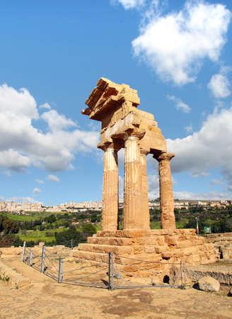 valley of the temples:  Valley of the Temples, archaeological park, Agrigento, Sicily, Italy