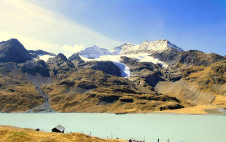 swizerland: Bernina pass, Swizerland