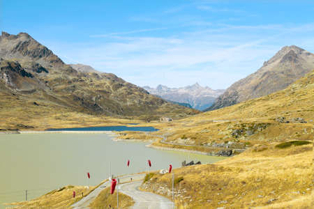 Bernina pass, Swizerland  photo