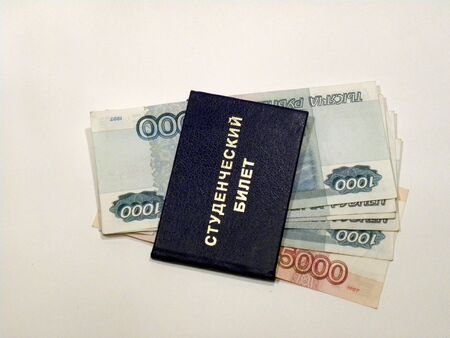 subornation: Bribe at roubles for examinations