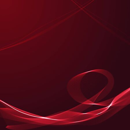 burgundy ribbon: Abstract background with wavy ribbons  and space for your text