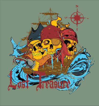 schepen: Piratenwereld vector