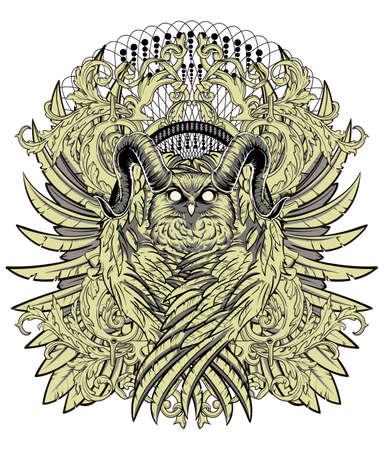 Owl s territory  Vector