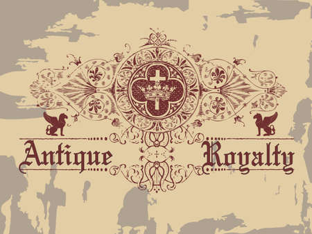Antique Royalty  Vector