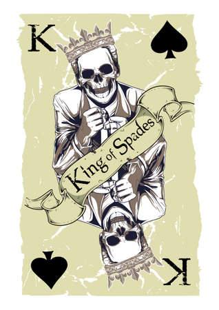knave: King of spades