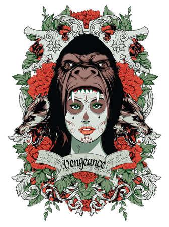 scared girl: Vengeance