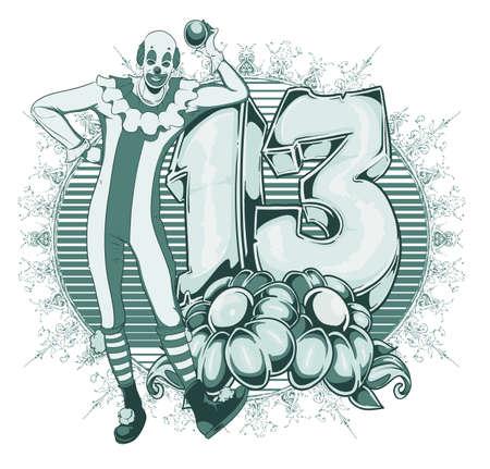circus clown: Clown brings luck