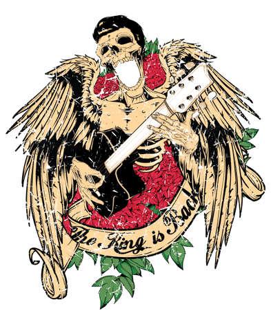 hard rock: The king is back  Illustration