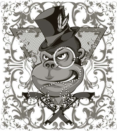 Bandit monkey Imagens - 25525143