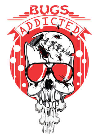 Bug addicted Illustration