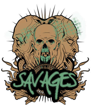 Savages  Vector