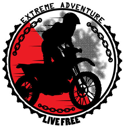 bicycle race: Extreme adventure