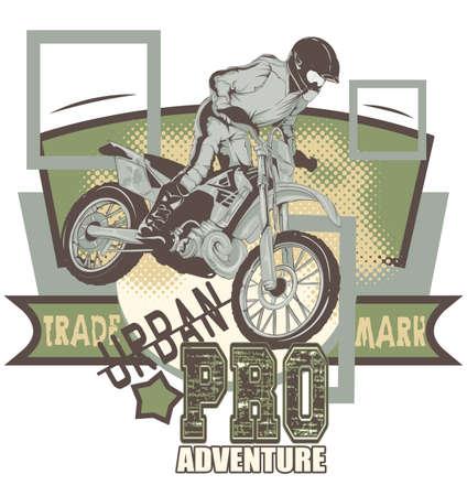 motocross riders: Urban adventure