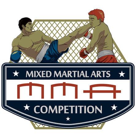 Artes marciales Vectores