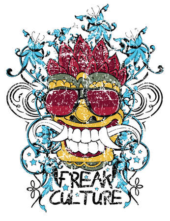 Freak culture  Illustration