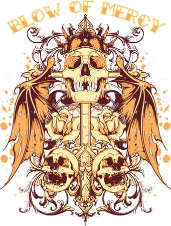 mercy: Blow of mercy Illustration