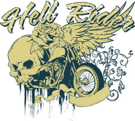 Hell rider Vector