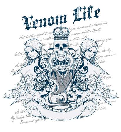 Venom life Illustration