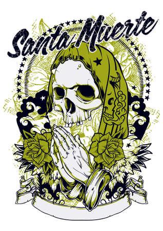 Santa muerte Vector