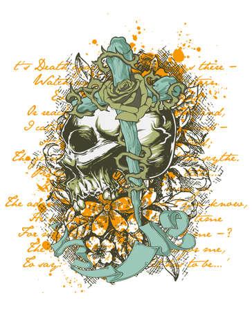 Death land Illustration