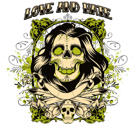 Love and hate Vector