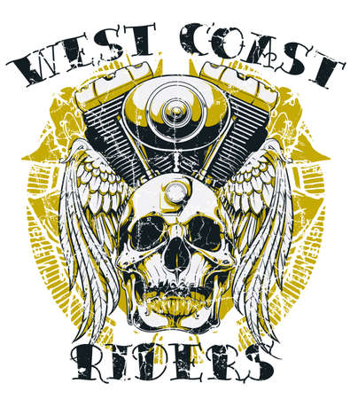 West coast riders Vector