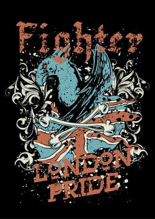 churchyard: Fighter Illustration