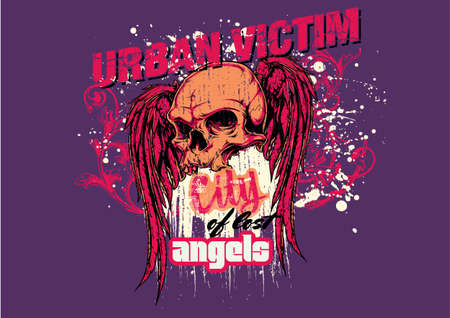 Urban victim Vector