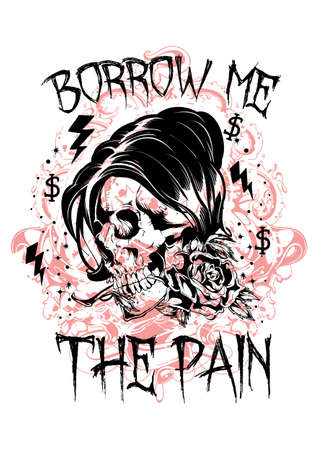 Borrow me the pain Vector