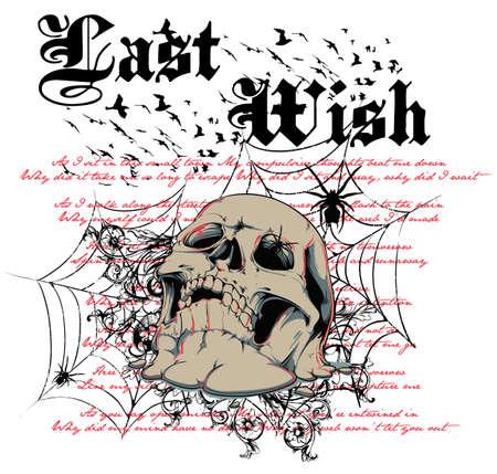skull cranium: Last wish