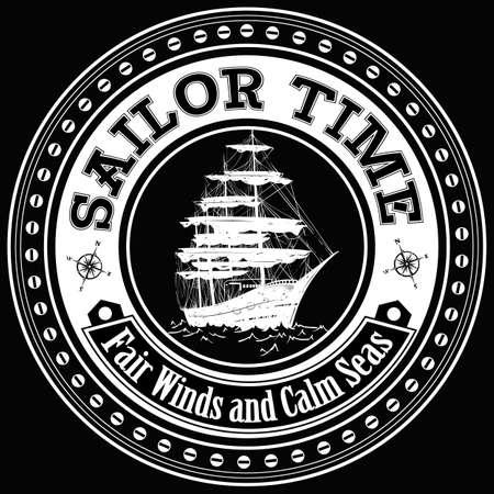 galleon: Sailor time  Illustration