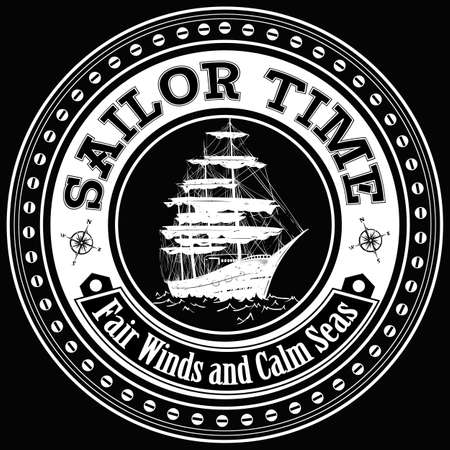 Sailor time  Illustration