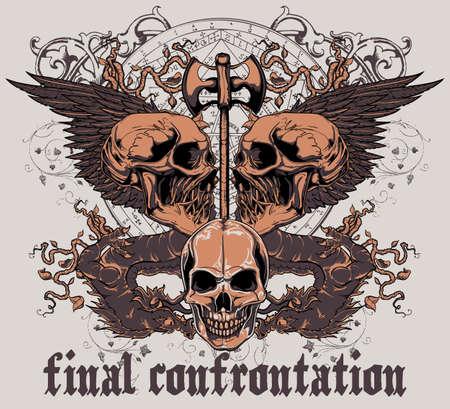 Final confrontation  Illustration