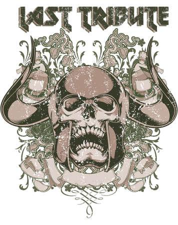 tribute: Last tribute  Illustration
