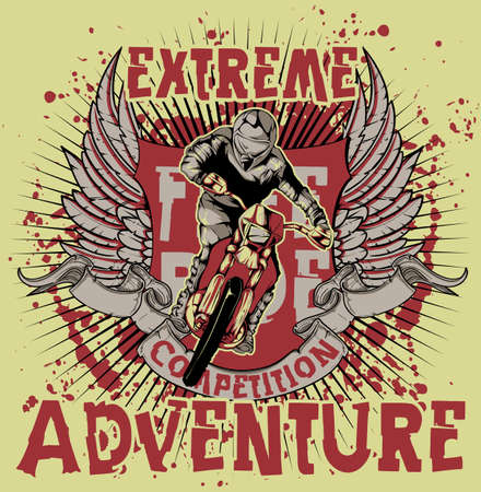 motor cycle: Extreme adventure