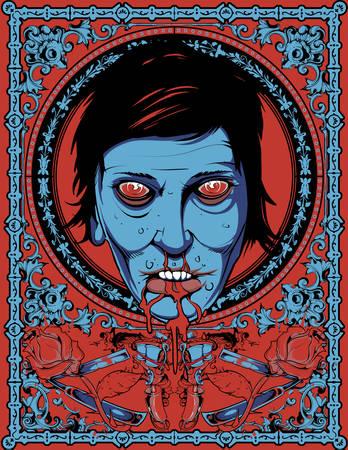 thirsty: Thirsty zombie  Illustration