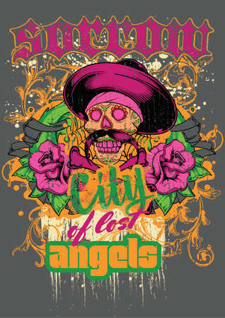 City of lost angels  Vector
