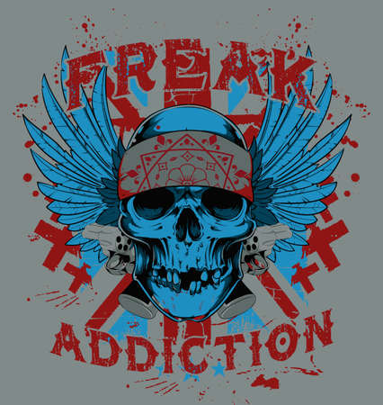 Freak addiction  Vector