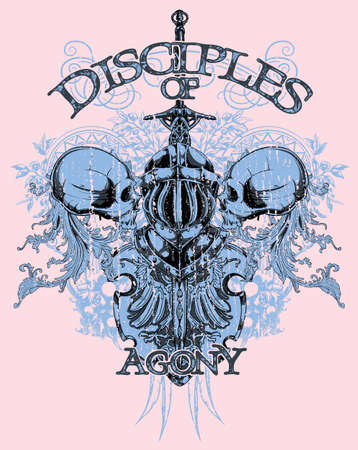 Disciples of agony  Vector