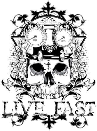 Live fast Vector