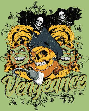 Pirate s vengeance  Ilustração